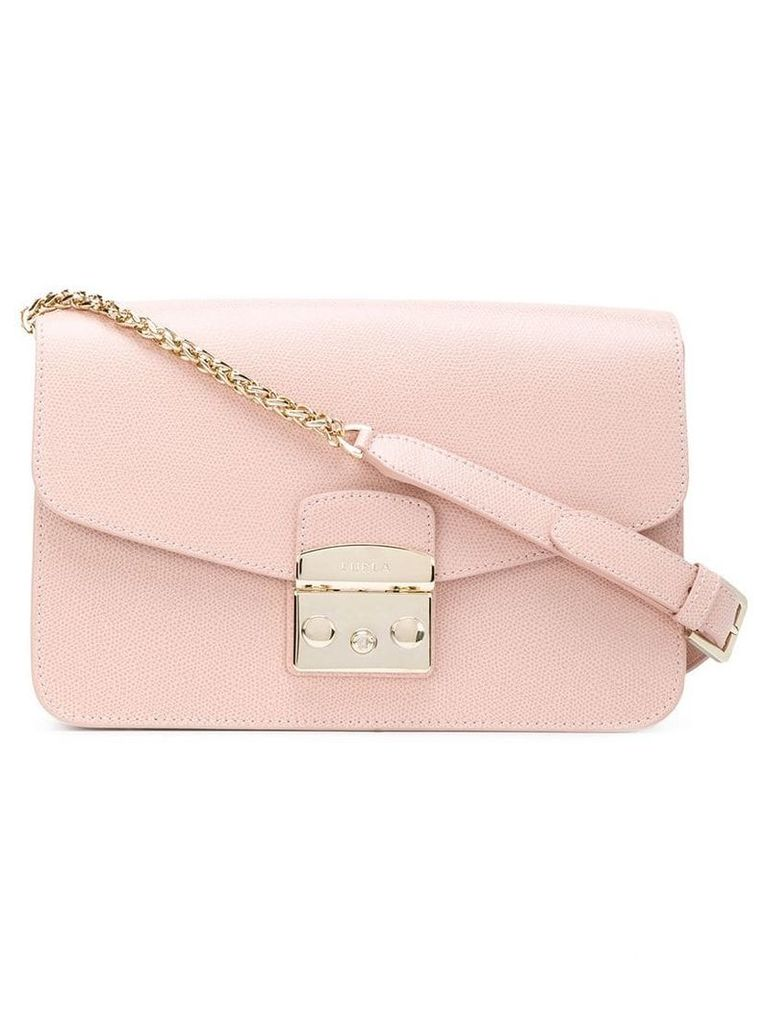 Furla rectangular Metropolis bag - Pink