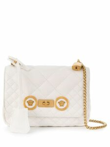 Versace small Icon shoulder bag - White