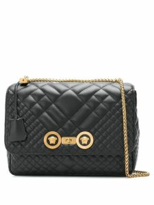 Versace Icon quilted shoulder bag - Black
