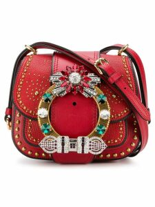 Miu Miu Dahlia shoulder bag - Red