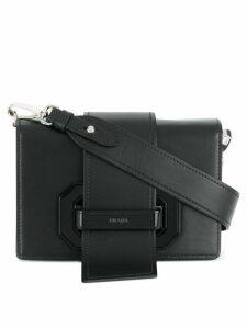 Prada ribbon shoulder bag - Black
