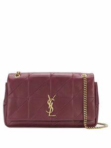 Saint Laurent Medium Jamie patchwork bag - Red