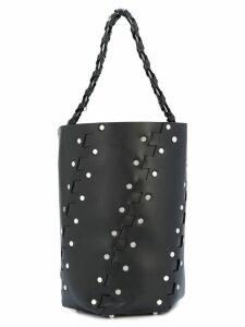 Proenza Schouler Medium Studded Hex Bucket Bag - Black