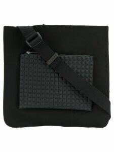 No Ka' Oi square shoulder bag - Black