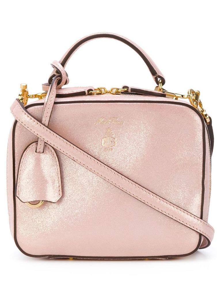 Mark Cross Baby Laura shoulder bag - Metallic