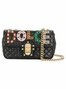 Dolce & Gabbana Lucia quilted shoulder bag - Black