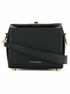 Alexander McQueen black Box shoulder bag
