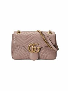 Gucci Beige GG Marmont matelassé shoulder bag - Neutrals