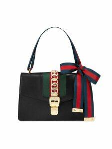 Gucci black Sylvie leather shoulder bag