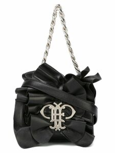 Emilio Pucci ruffled shoulder bag - Black