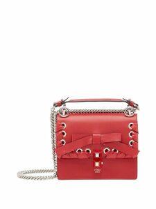 Fendi Kan I bow detail shoulder bag - Red