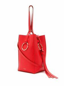 Nina Ricci O-ring bucket bag - Red
