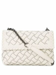 Bottega Veneta small Olimpia shoulder bag - Grey