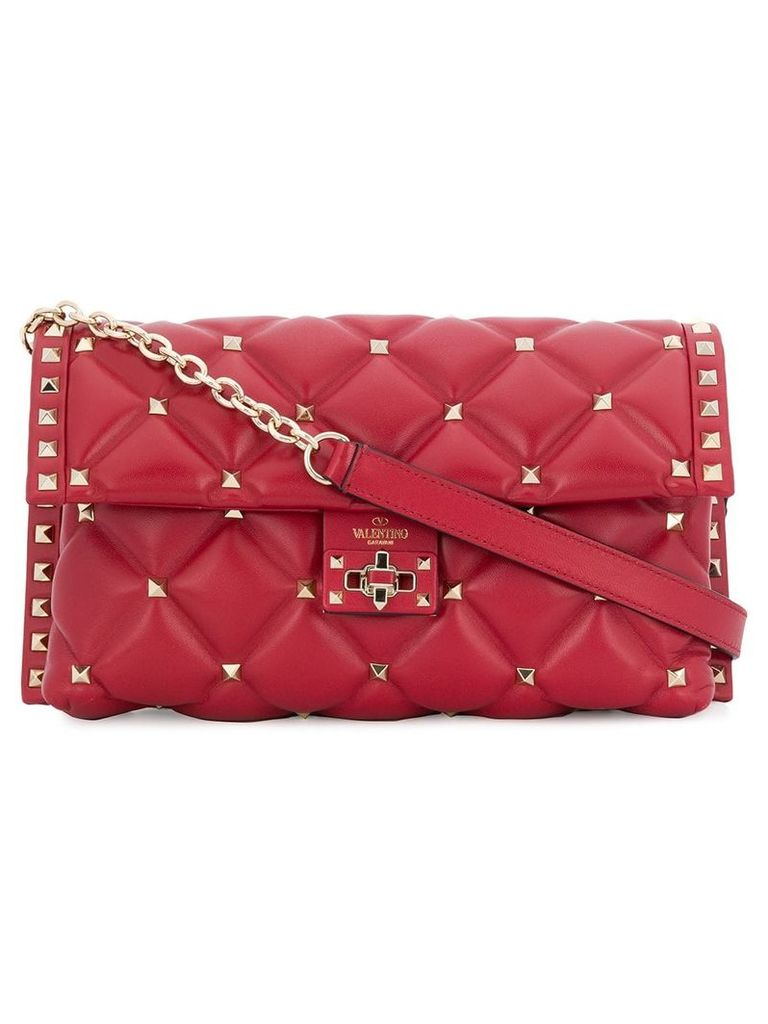 Valentino Valentino Garavani Candystud shoulder bag - Red