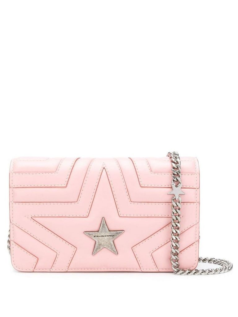 Stella McCartney Stella Star shoulder bag - Pink