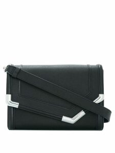 Karl Lagerfeld Rocky Saffiano shoulder bag - Black