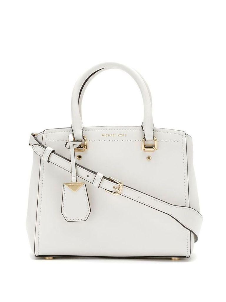 Michael Michael Kors top handles tote bag - White