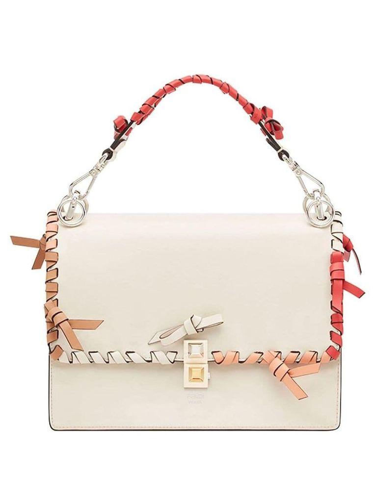 Fendi Kan I shoulder bag - White