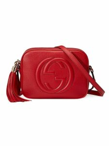 Gucci Soho disco small leather shoulder bag - Red