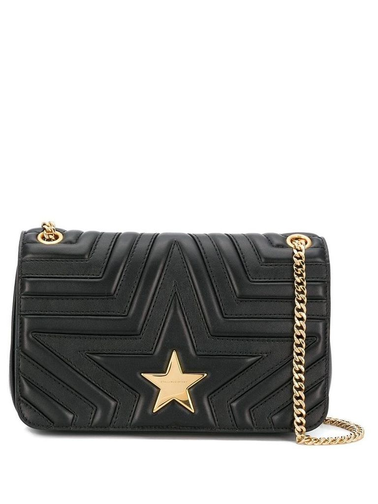 Stella McCartney star shoulder bag - Black