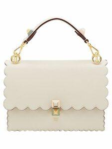 Fendi Kan I scalloped handbag - White