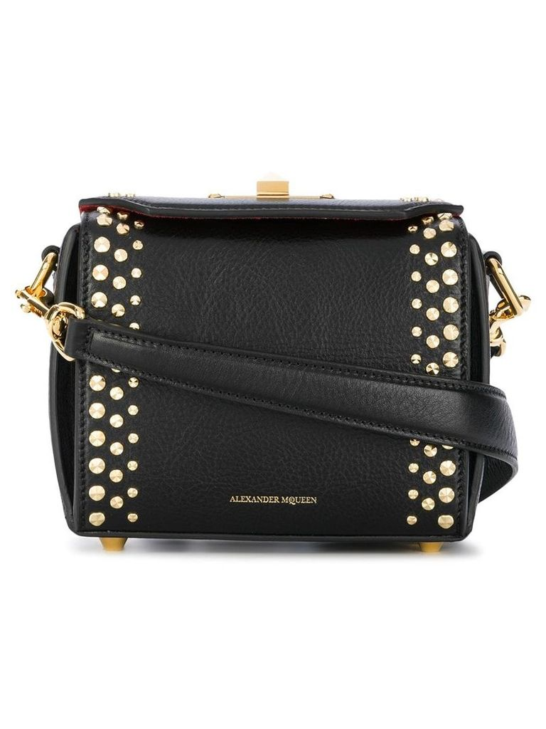 Alexander McQueen Box studded bag - Black
