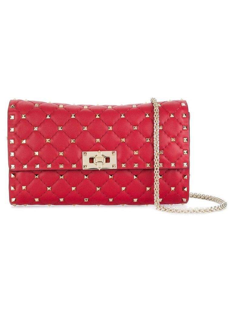 Valentino Rockstud Spike shoulder bag - Red