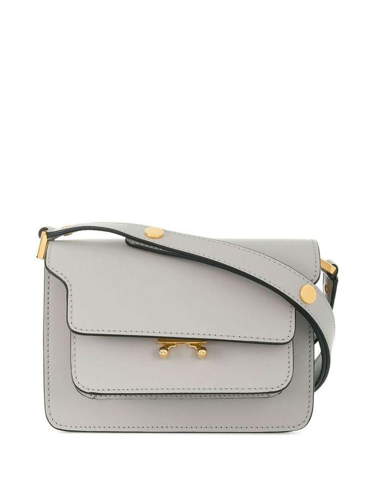 Marni Trunk shoulder bag - Grey