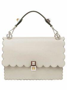Fendi nude Kan I leather shoulder bag - Neutrals