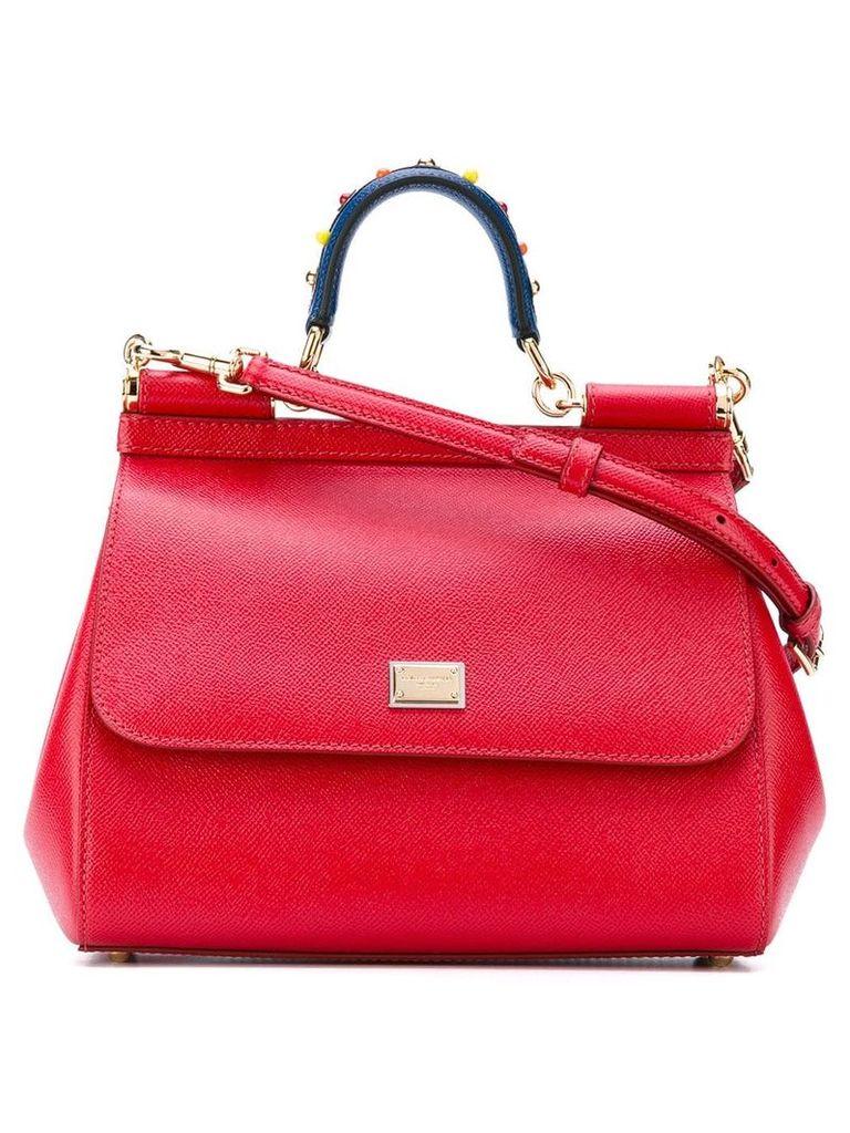 Dolce & Gabbana Sicily shoulder bag - Red