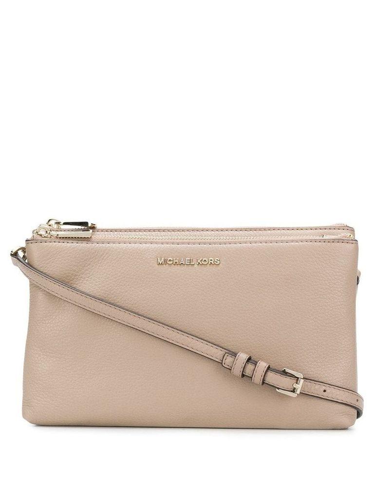 Michael Michael Kors Adele shoulder bag - Neutrals