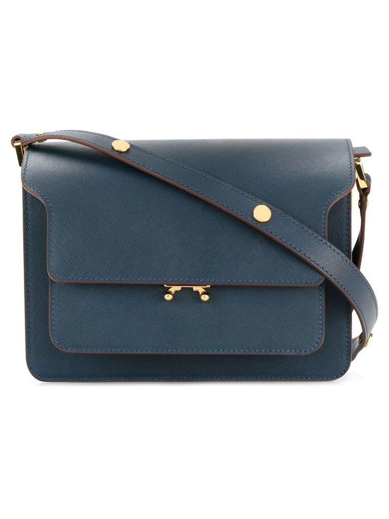 Marni Trunk shoulder bag - Blue