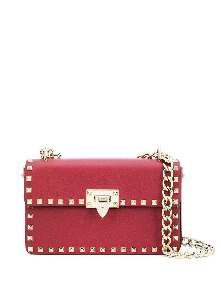 Valentino small Valentino Garavani Rockstud shoulder bag - Red