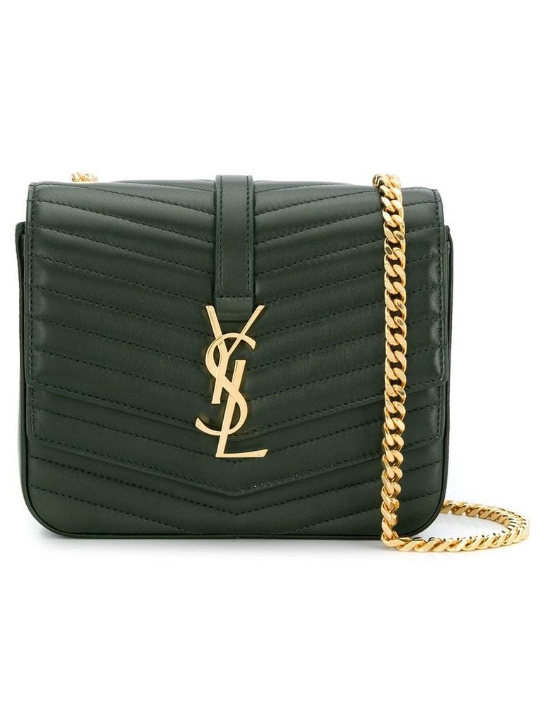 Saint Laurent Saint Laurent Sulpice small in quilted lambskin - Green