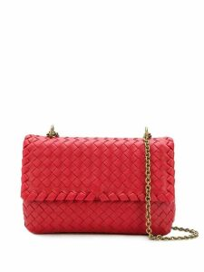 Bottega Veneta Baby Olympia shoulder bag - Red
