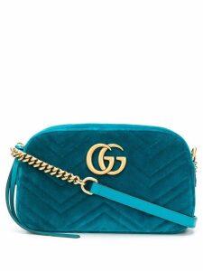 Gucci GG Marmont matelassé shoulder bag - Blue