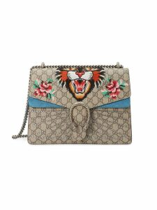 Gucci Tiger Dionysus embroidered shoulder bag - Neutrals