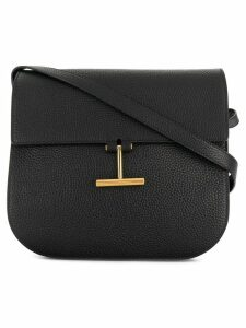 Tom Ford flap T shoulder bag - Black