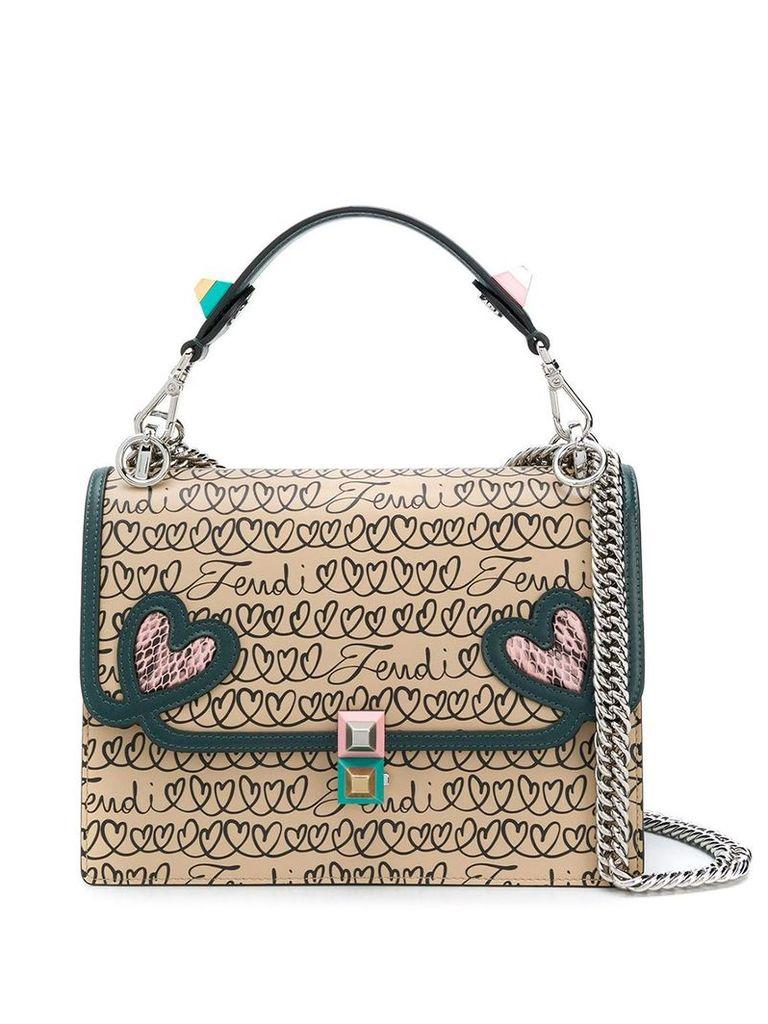 Fendi Kan I shoulder bag - Neutrals