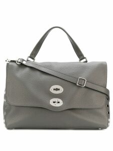 Zanellato studded tote bag - Grey