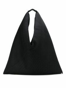 Mm6 Maison Margiela Triangle Handle tote bag - Black