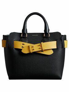 Burberry The Small Leather Belt Bag - Black