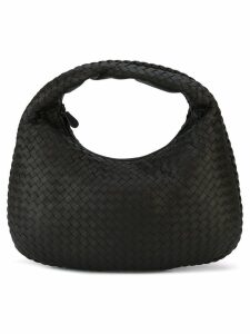 Bottega Veneta espresso Intrecciato nappa medium veneta bag - Brown