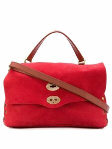 Zanellato stud detail tote bag - Red