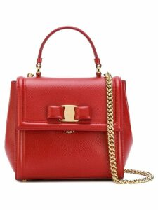 Salvatore Ferragamo small Vara top-handle bag - Red