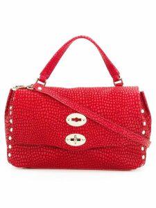 Zanellato logo tote bag - Red