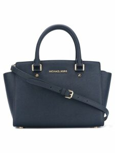 Michael Michael Kors Selma medium satchel - Blue