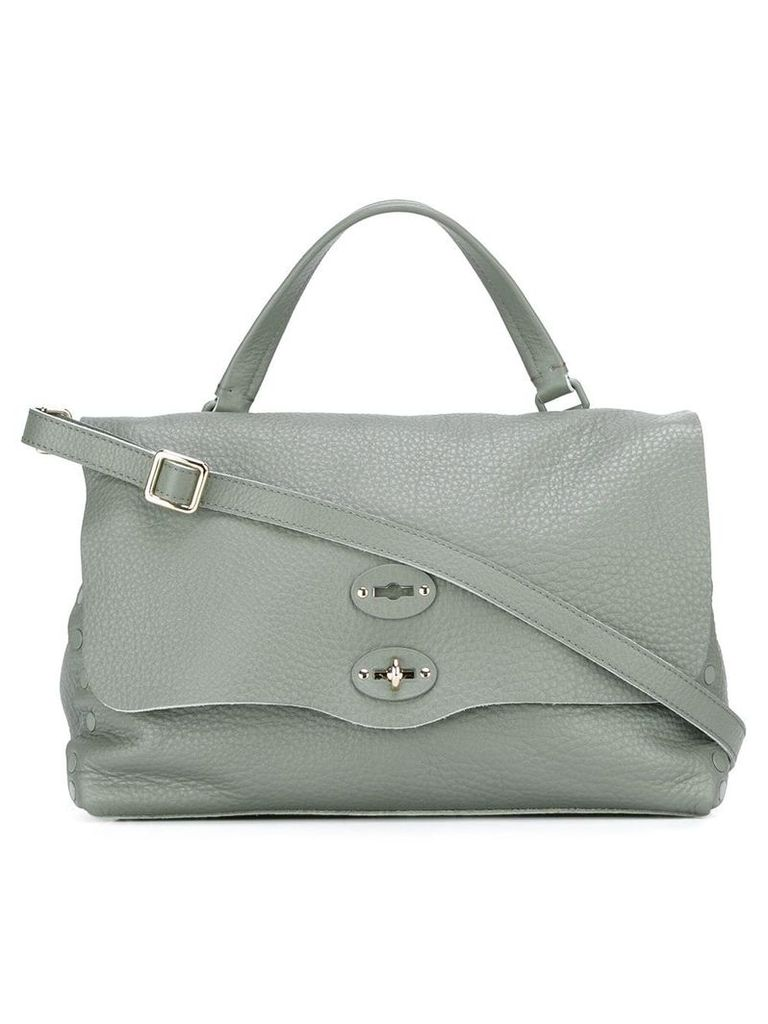 Zanellato medium 'Conifera' tote - Green