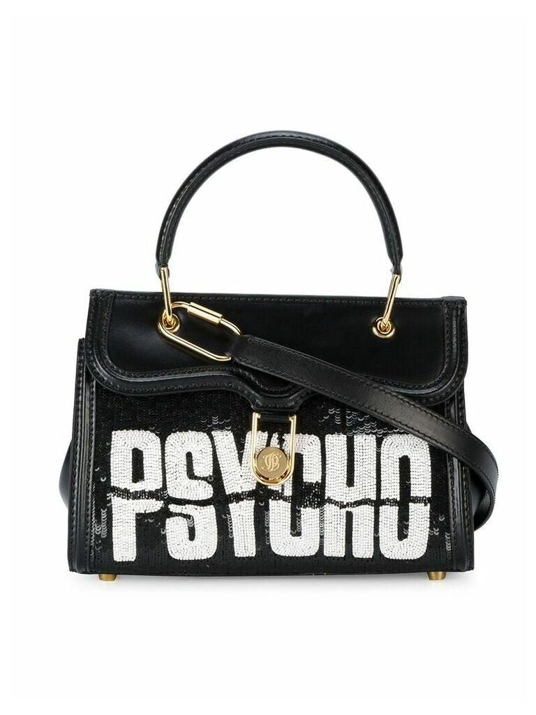 Olympia Le-Tan Mini Marguerite tote bag - Black