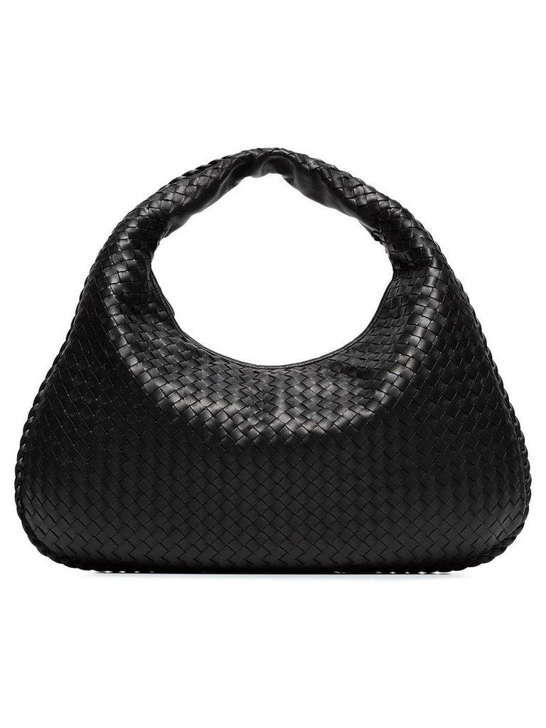 Bottega Veneta hobo leather shoulder bag - Black